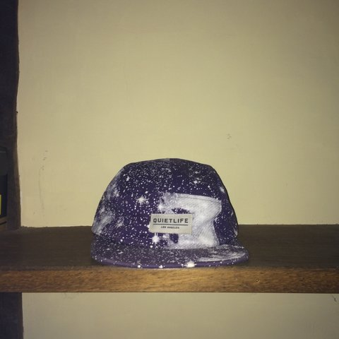 f38ddd6a The Quiet Life Cosmos 5 panel SnapBack hat very rare not but - Depop