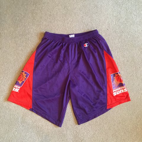 1396fa49448d Vintage Champion Phoenix Suns NBA shorts. Men s Large. Check - Depop