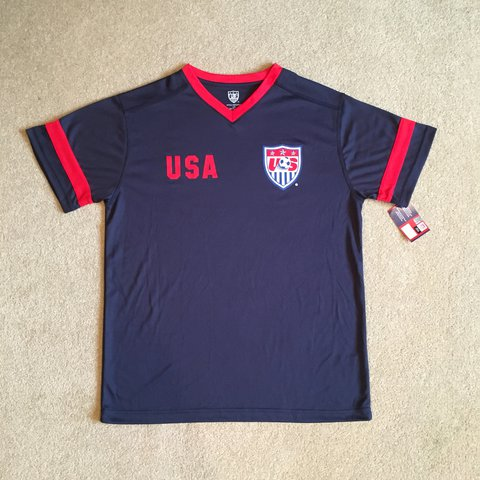72f7665488a Brand New Nike USA Soccer Shirt Men s Large. Tags still for - Depop