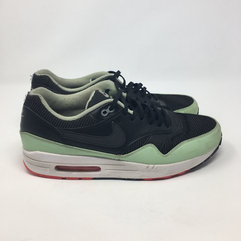 "8bb1592dd89e3 Nike Air Max 1 Black Mint Green ""Yeezy"" Men s Size 12. Small - Depop"