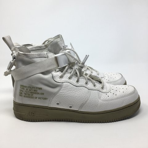 Nike Air Force 1 Utility Mid. Men s size 13. Couple marks of - Depop 1809a2983