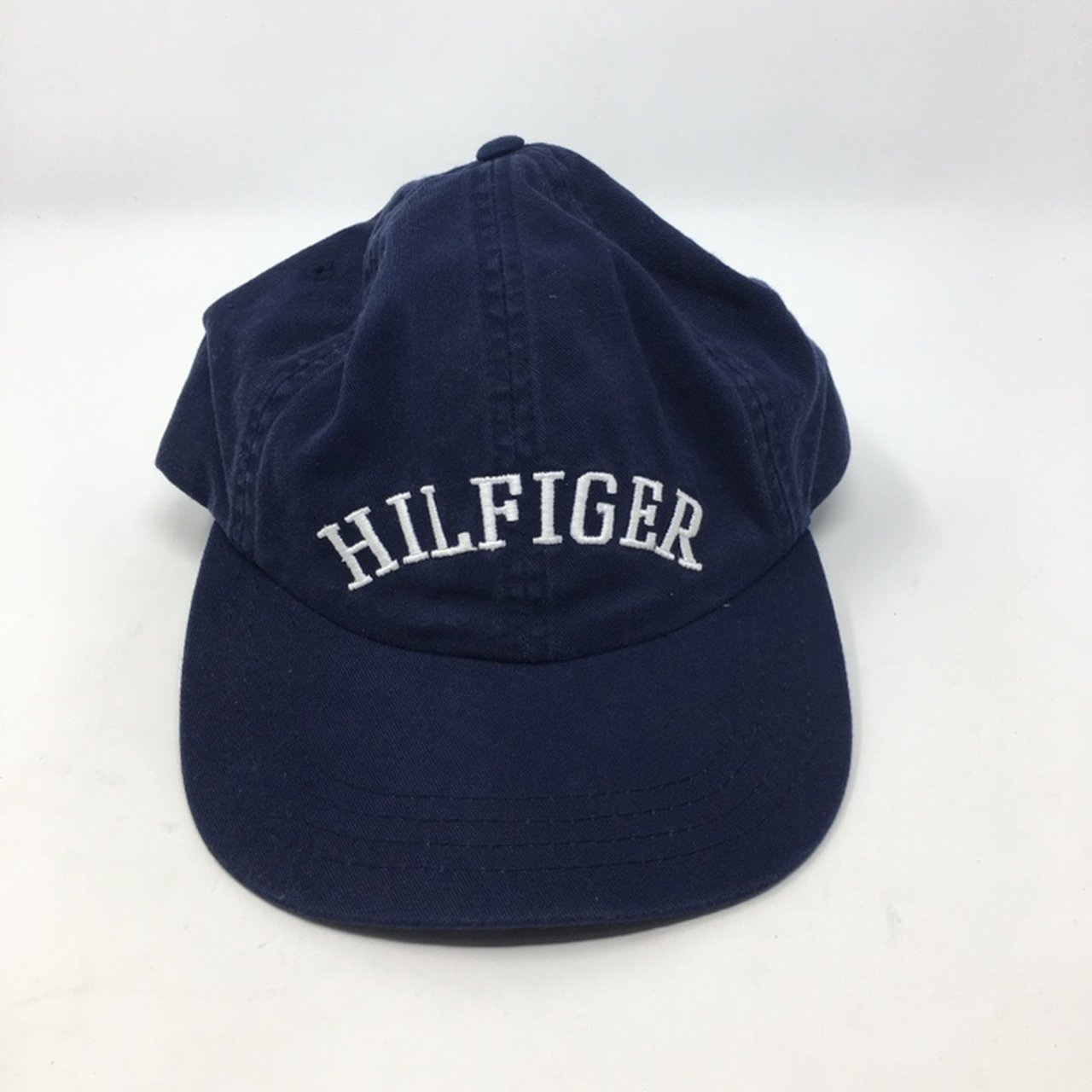 dcb9deb8100 Tommy Hilfiger Leather Strap Hat. Slightly faded. Overall - Depop