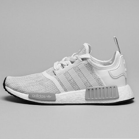 eb59420bb Adidas NMD R1 white grey trainers. Brand new with tags. Size - Depop