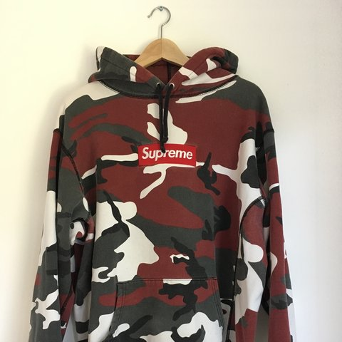 7072f0eaa86d WTT Supreme Urban Camo Box Logo Hoodie Size XL. Condition  - Depop