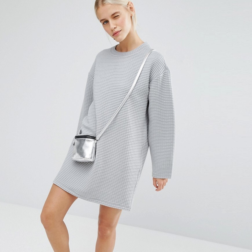 sale online search for clearance superior performance FREE UK DELIVERY Monki textured jumper dress • size ...