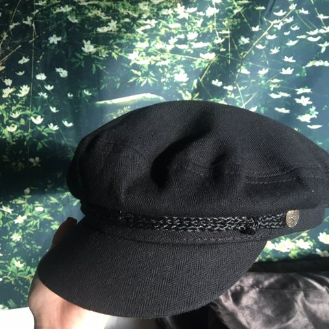 ef9acf48d4cae Perfect condition black Brixton fiddler cap! Size medium. up - Depop