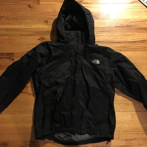 North face windbreaker black large men s jacket - Depop c18023ecc