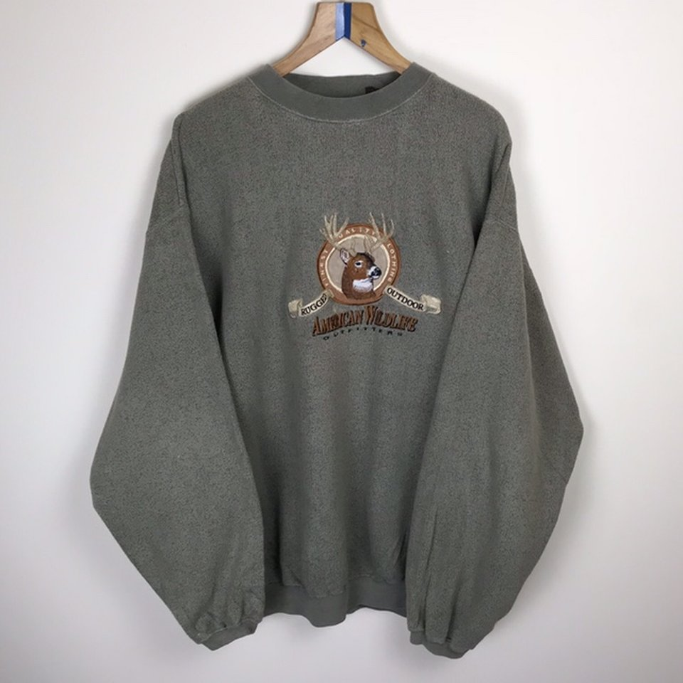 Vintage Sweater All American Wildlife Collection