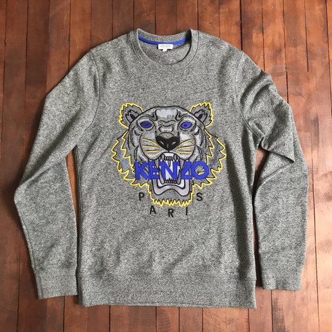 e46818d5 @curgy. last year. Beith, United Kingdom. Mens size small Kenzo Jumper in  Grey // Only worn a few times so ...