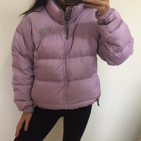 3a58eed2a Lilac North Face puffa 700 jacket puffer jacket • in... - Depop