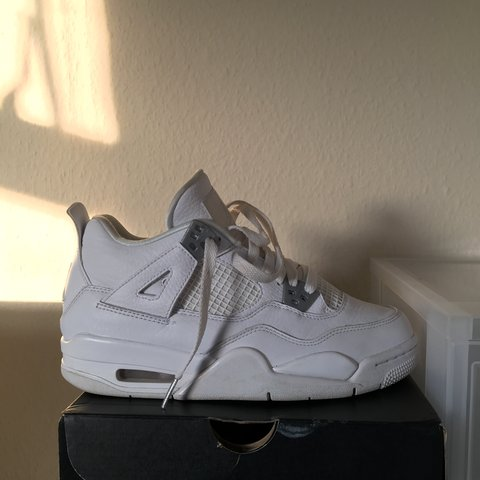 a1b06d916061b2 Air jordan 4 PURE MONEY GS WOMENS SIZE UK5 9 10 Condition - Depop