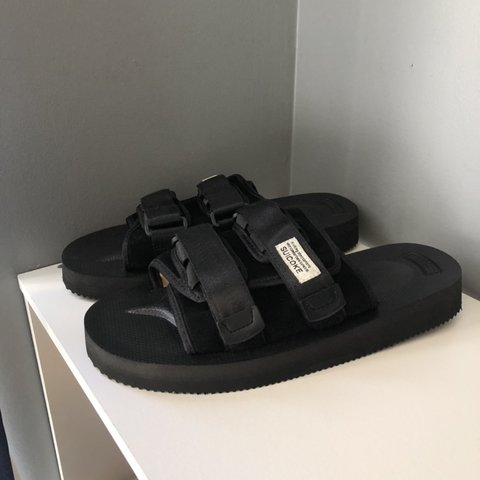 5ab445ba7e0 Suicoke Moto Black. Size 8.5 brand new never worn. On with - Depop