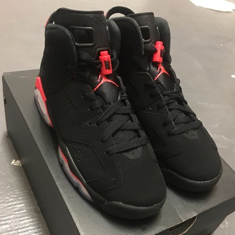 buy popular d4a32 f436d  mgnsnds. last month. Newcastle Upon Tyne, United Kingdom. Nike Air Jordan  6 Retro 6 Black Infrared (GS) UK size 4️⃣. Brand new ...