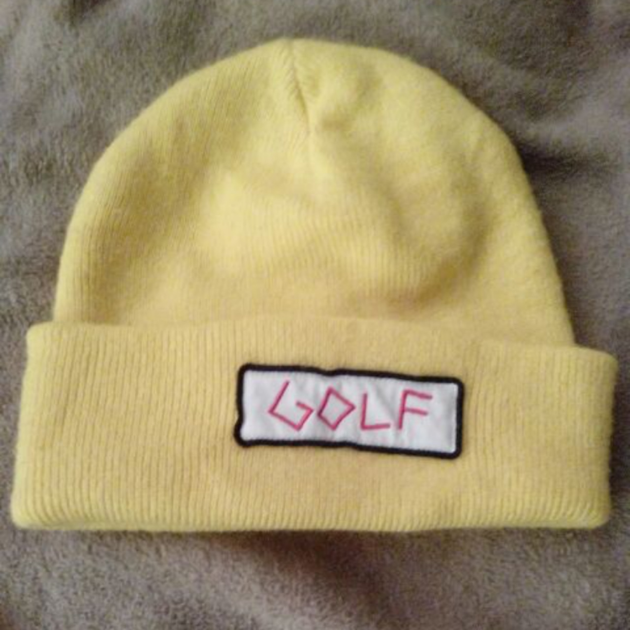 952c424bec27 Golf Wang beanie From 2013 In good condition NO... - Depop