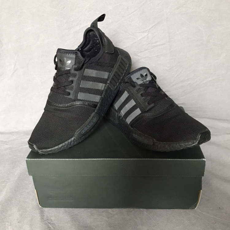 Adidas Nmd R1 Triple Black Good Depop