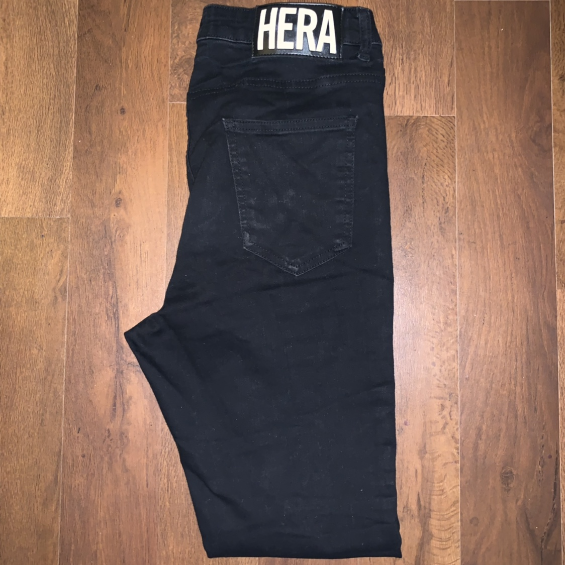 Mens Black paint splatter HERA LONDON jeans. Size Depop
