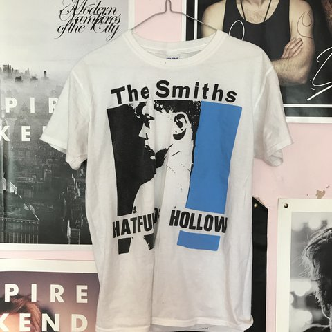 a24e8be1 @lilygittens. last year. Blackwood, United Kingdom. The Smiths Hatful of Hollow  tshirt ...