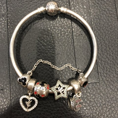 91f3d156f Any interest in this PANDORA bracelet with Disney safety and - Depop