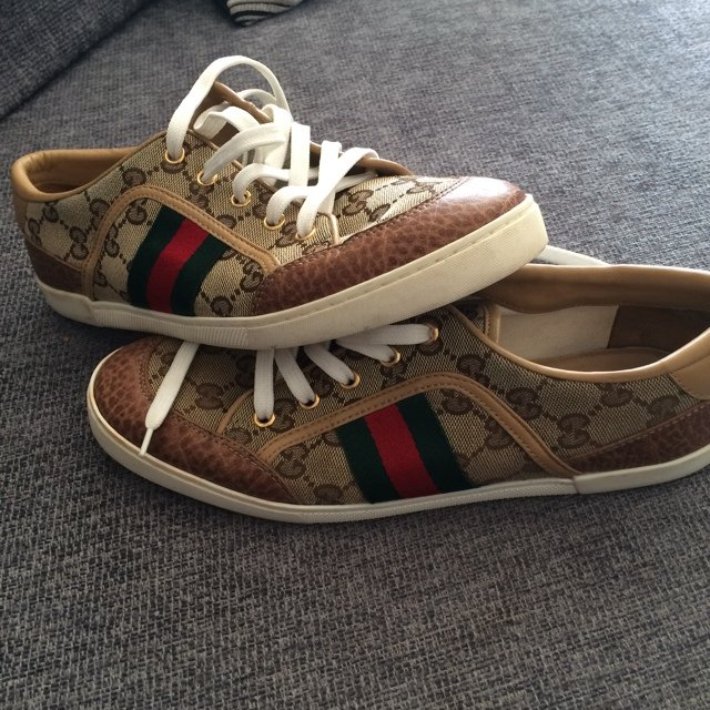 e0b343f27ca7 Gucci shoes size 7 !!!! Worn once immaculate condition