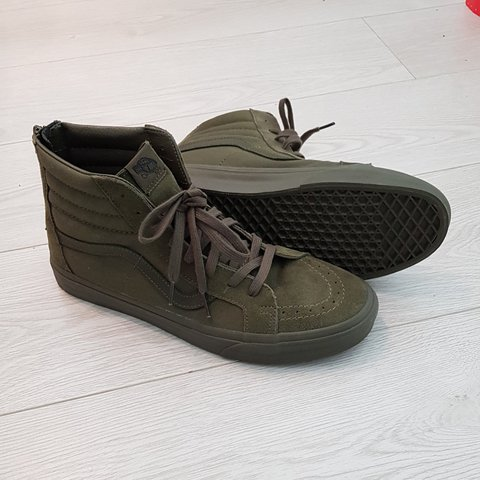 585c862824d6 VANS OLD SCHOOL HIGH TOP IVY GREEN Size - 10.5UK   BRAND NEW - Depop