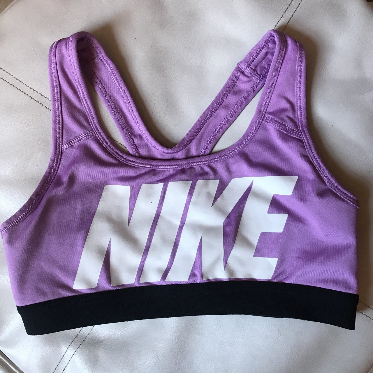 327c7d28fd More things you might like. Dark Grey Nike sports bra Appears