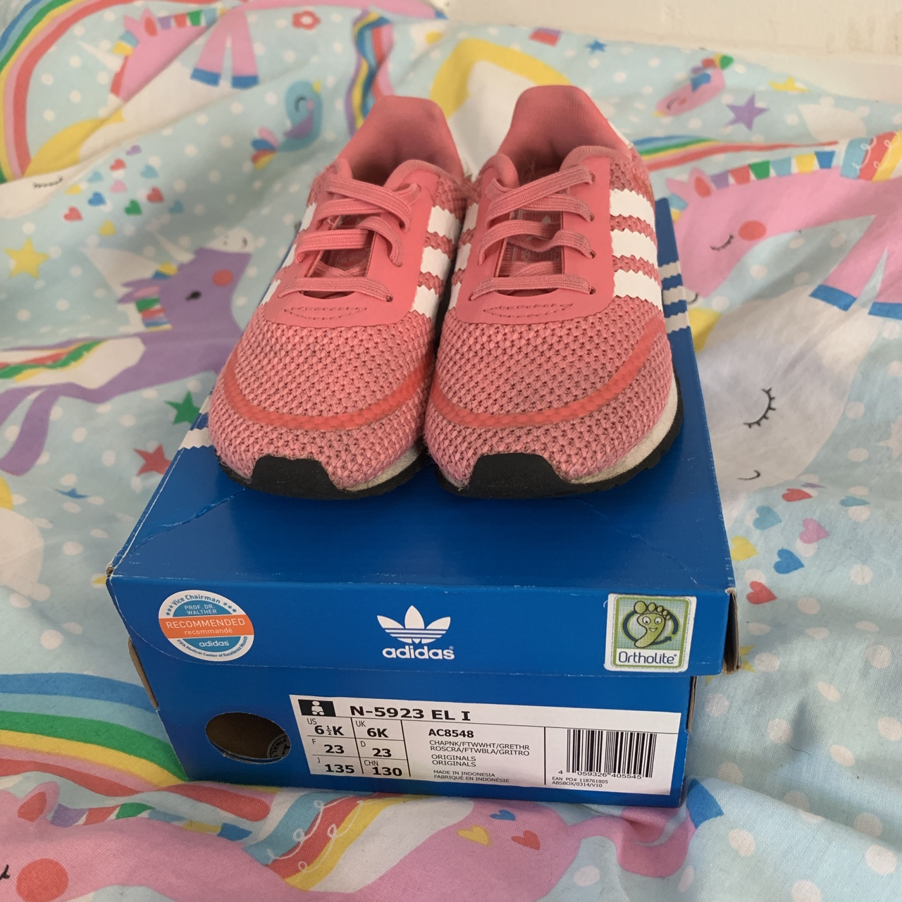 Adidas Infant Girl Trainers💖 Size 6