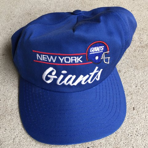 Vintage New York Giants football hat ! Great condition ! - Depop 10da815ae81