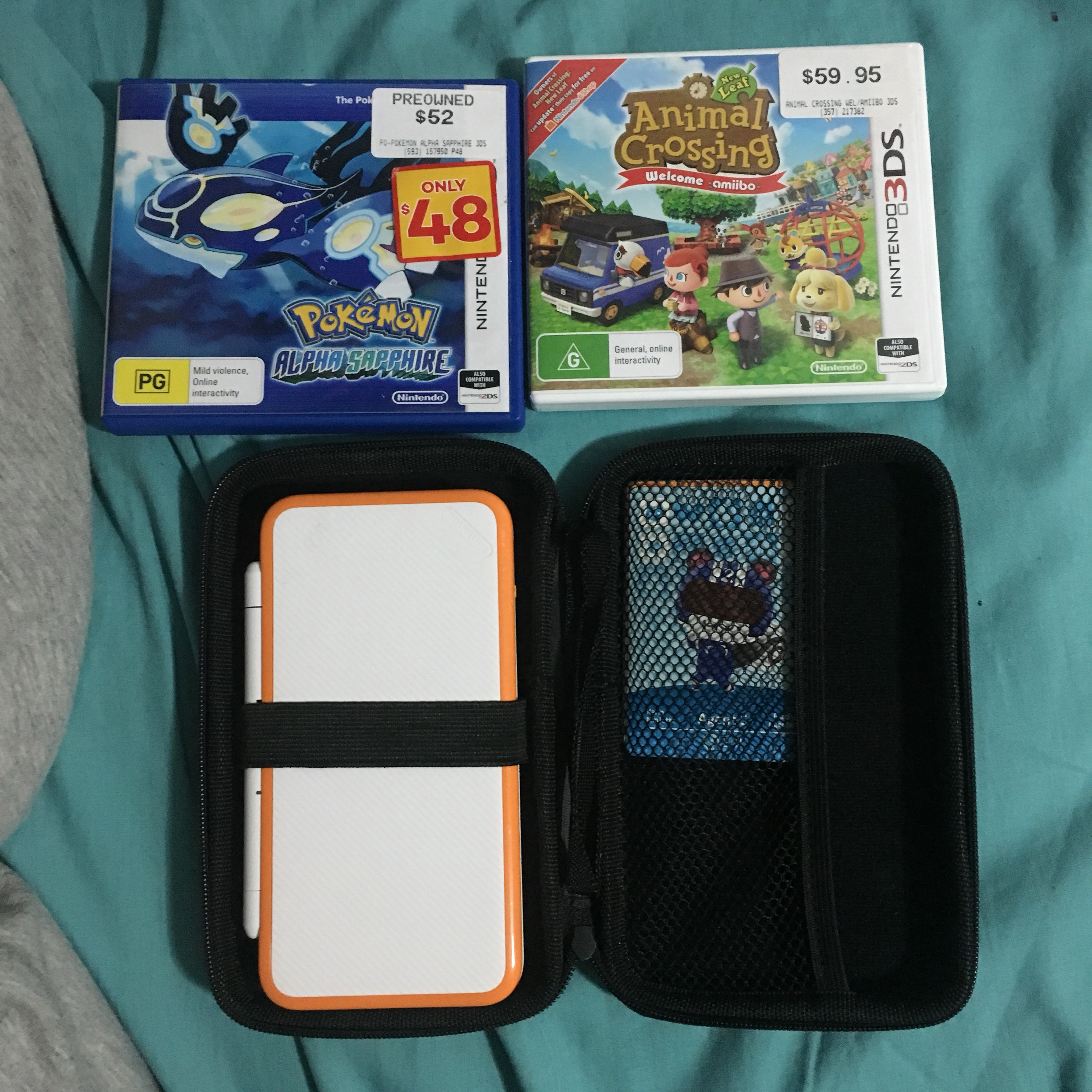 NINTENDO 2DS XL GAMING BUNDLE ☀️ Comes with -    - Depop