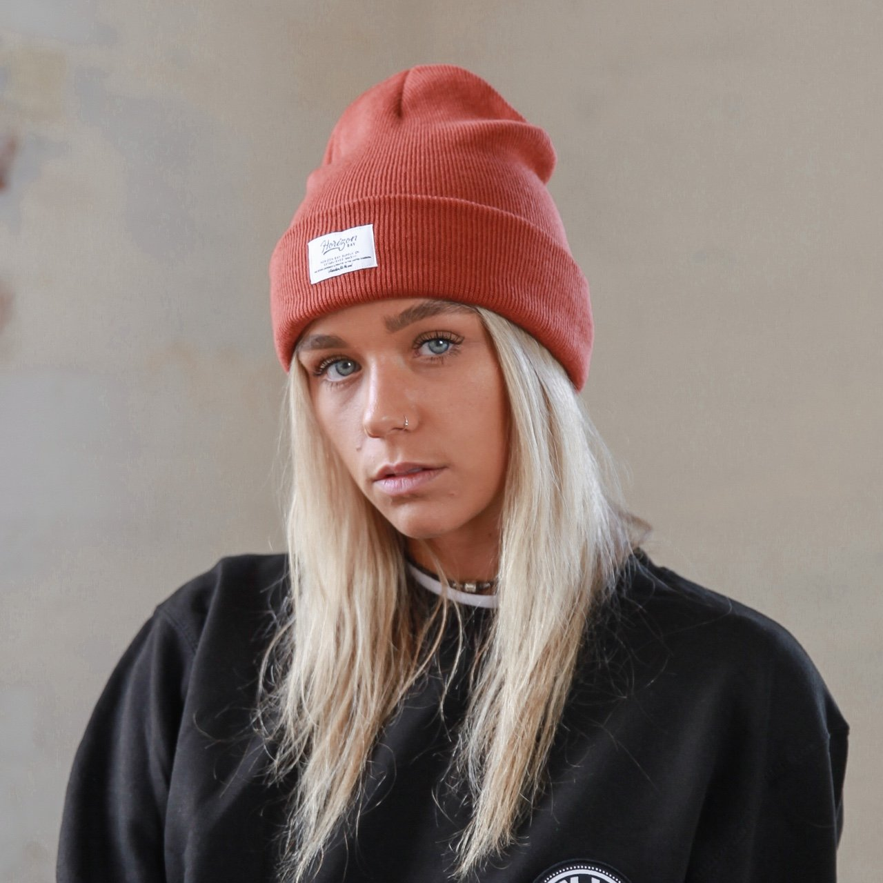 Horizon Bay Rust Beanie  327e2524820