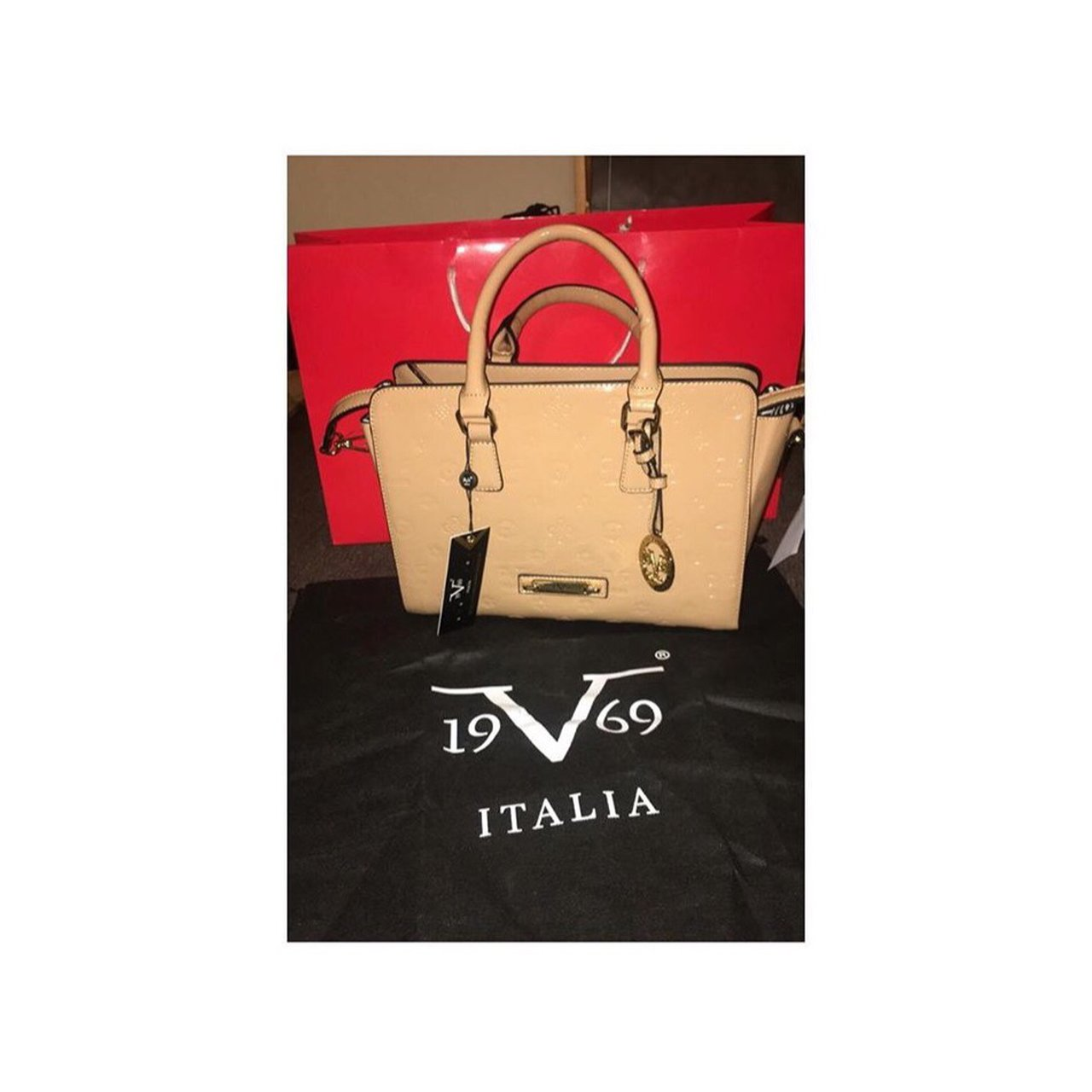 leahp199. last year. United Kingdom. Versace handbag comes with strap never  been ... c15644b13e896