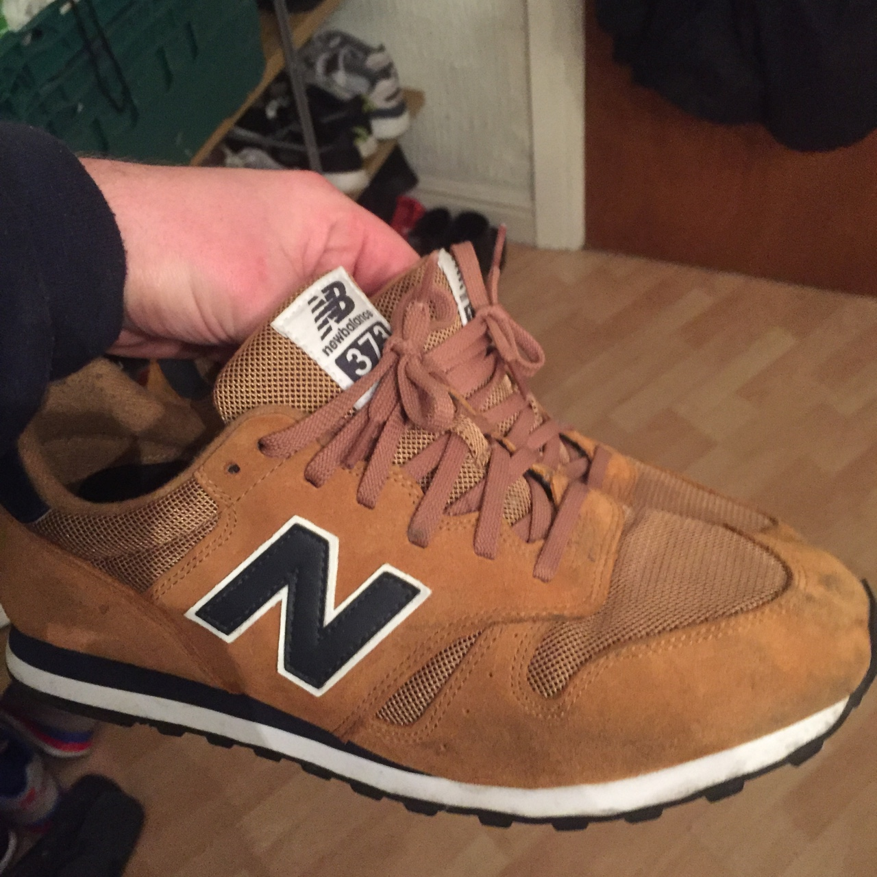 New Balance 373 Tan barely worn, would