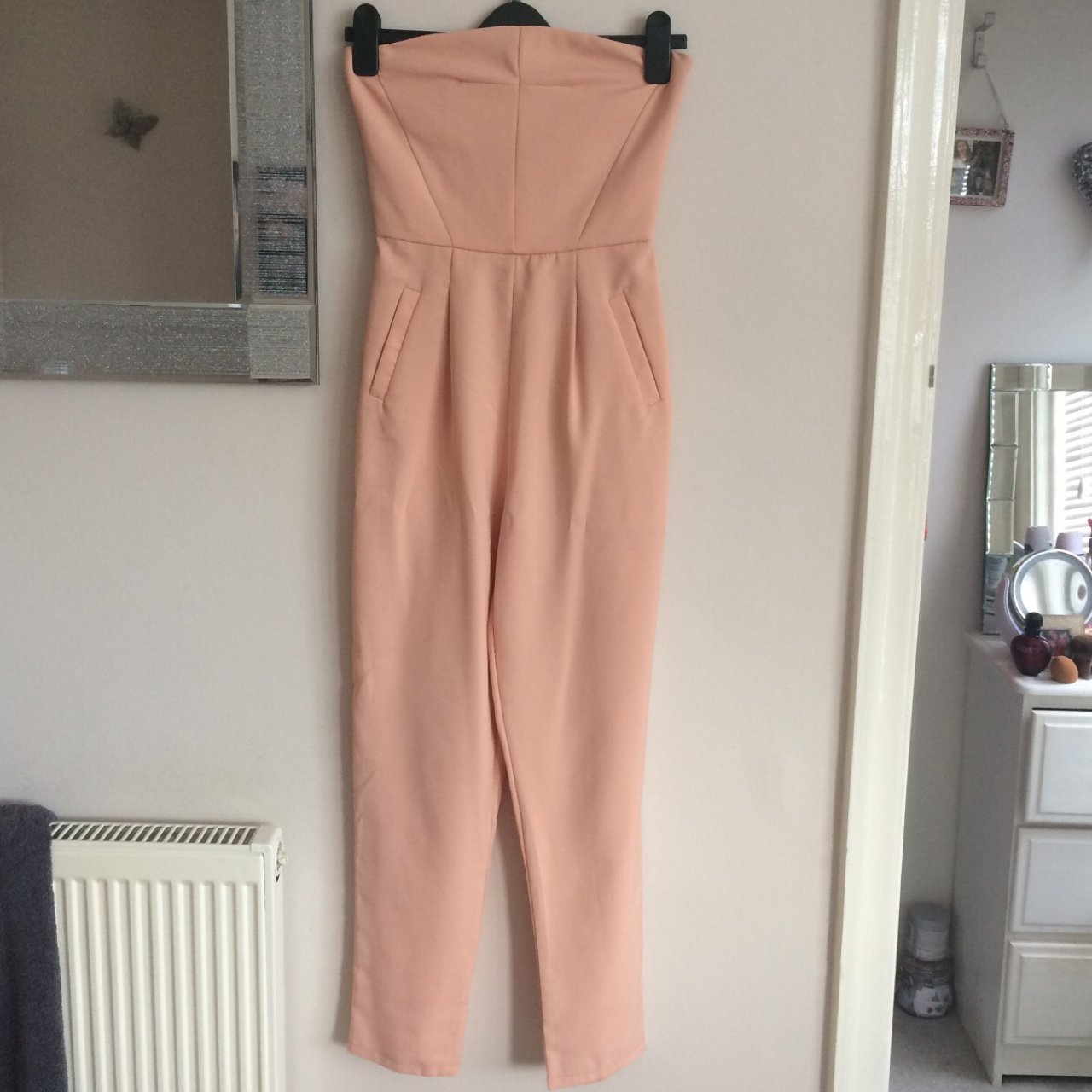 c3ed4446be8 Pink Missguided jumpsuit. Creased from