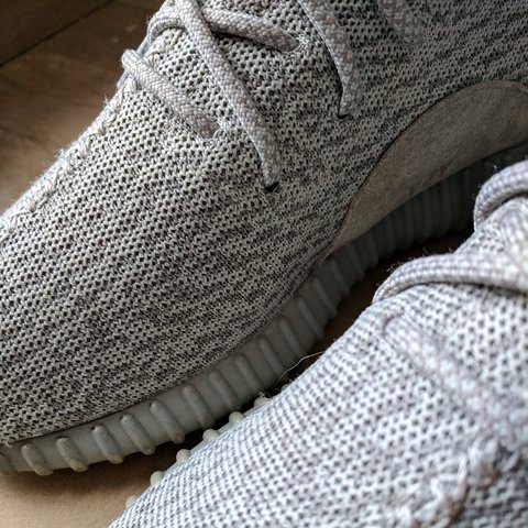 Adidas Yeezy boost 350 V1 Moonrock UK 9.5   US 10 Worn but - Depop cdf0f0101