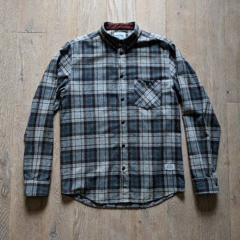 8b1966904 Norse Projects heavy flannel button down shirt