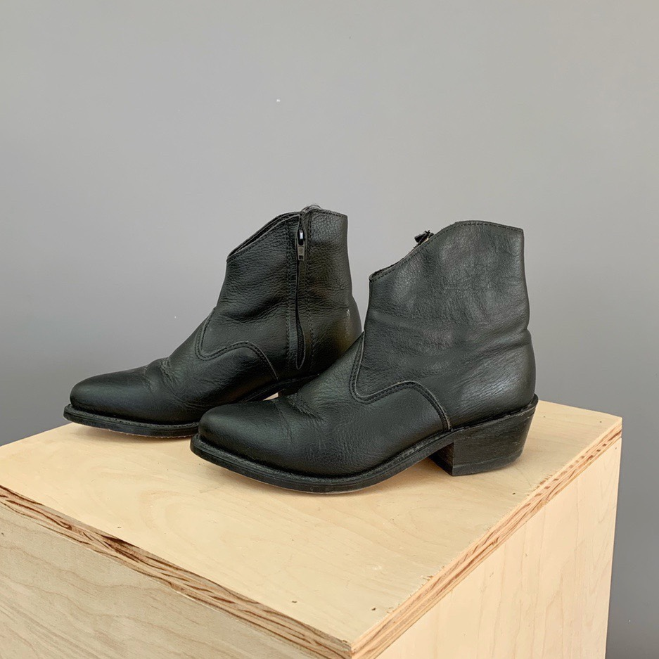Vintage low top cowboy boots! Made in