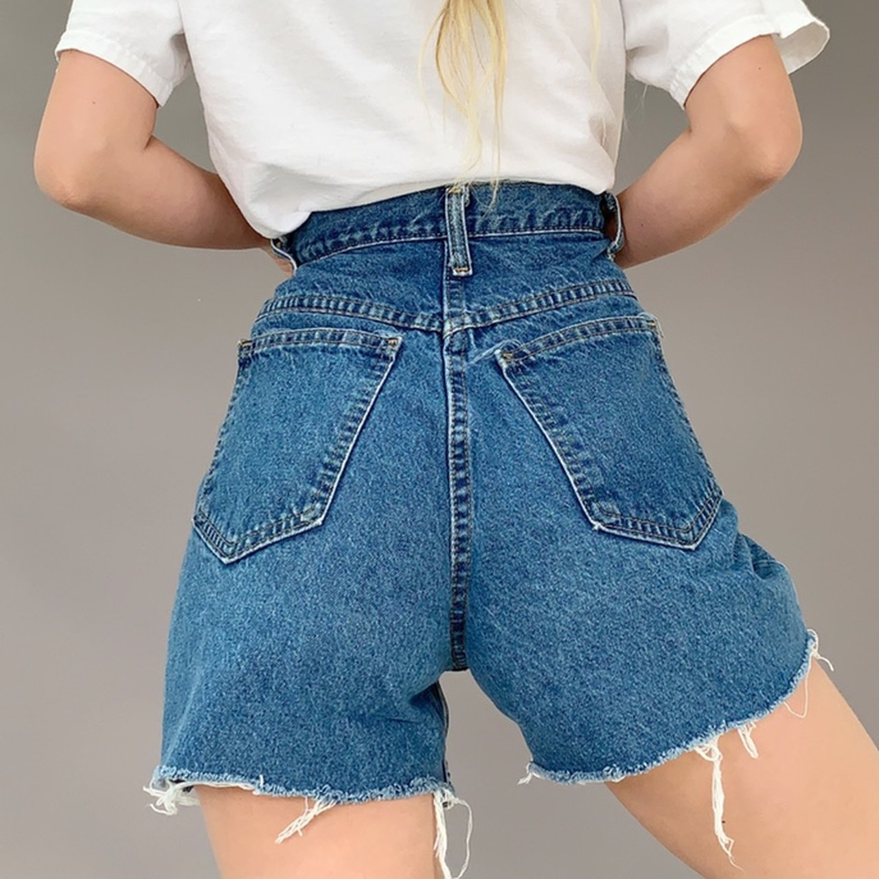 dcb167287a Vintage Made In The Usa Shorts Size 27 Zero Flaws High Waisted Fit! Medium  Wash