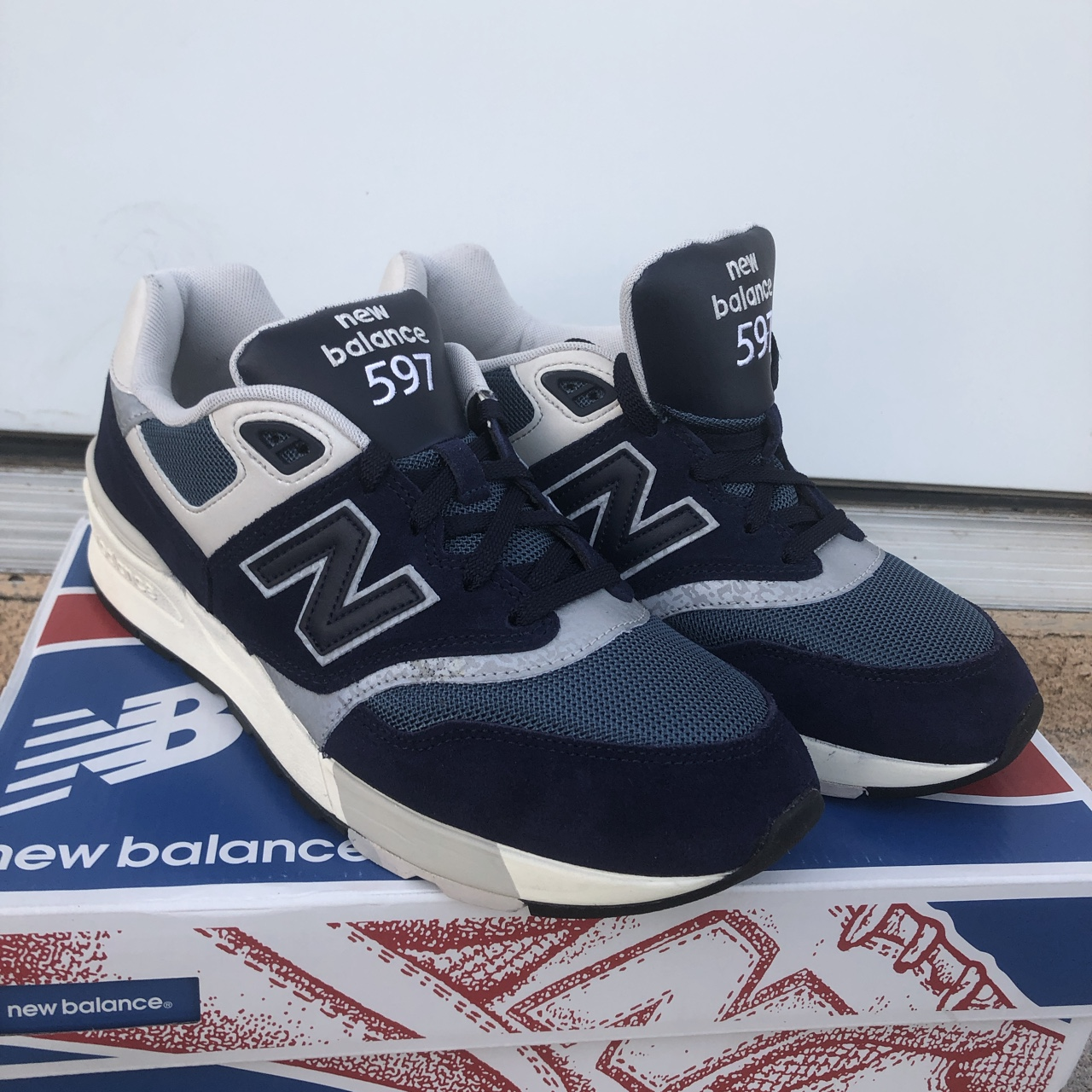 huge selection of c29b1 4c0a0 New Balance 597 is a classic made modern with suede ...