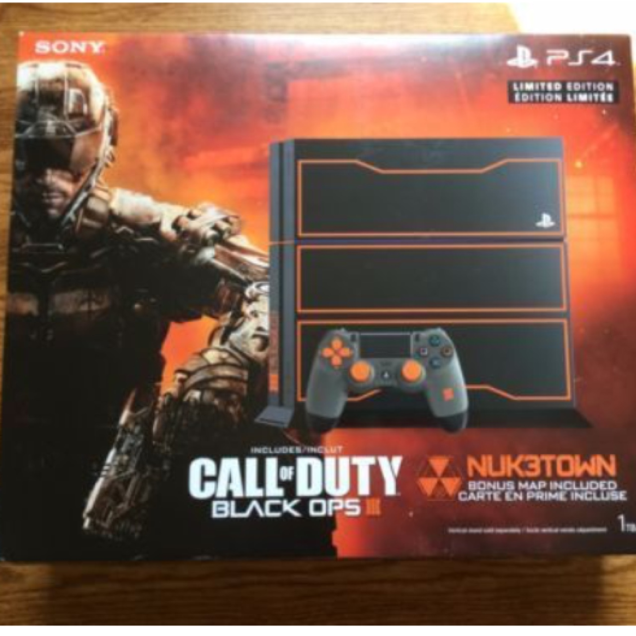 Playstation 4 PS4 1TB CONSOLE BLACK OPS III 3 Depop