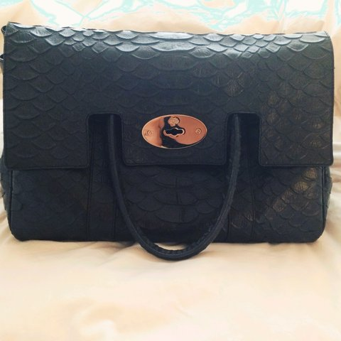 9821e5cd57 ... ireland black mulberry limited edition bayswater handbag. bought for  depop dbccd 3b047