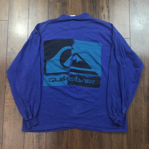 b6ee1d60 @frediculous. 4 months ago. United States. Vintage 90's Quiksilver Surfing Shirt  Men ...
