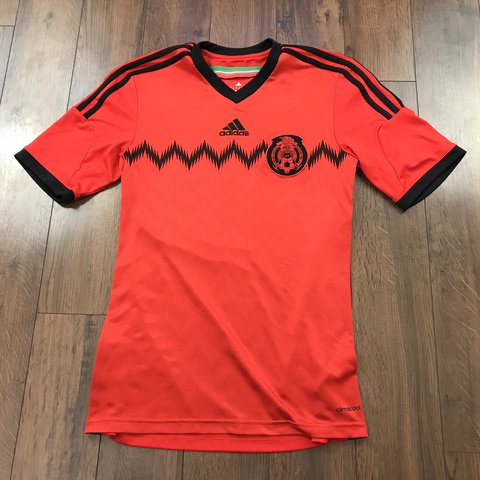 6e1eb1d9f @frediculous. 4 months ago. United States. ADIDAS Mens Size Small Mexico Soccer  Jersey Red Black ...