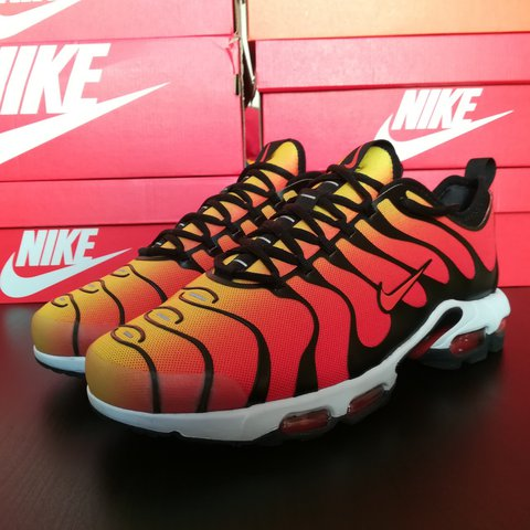 eae5cf89e8 @caltonzaid. last year. Falkirk, Falkirk, Regno Unito. Nike Air Max Plus TN  Ultra 👟 Black/Team Orange - Tour Yellow