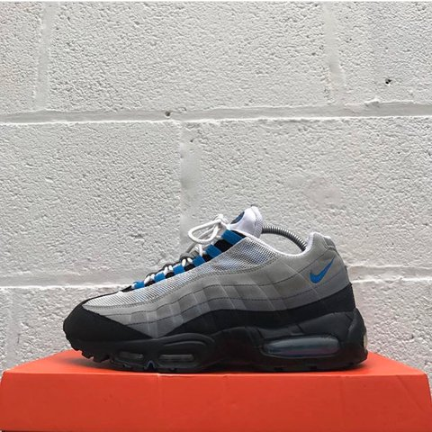 be7e5592c3 @liverpoolfootwear. 2 years ago. Liverpool, United Kingdom. Nike Air Max 95  - Blue Sparks - Used 10/10 - UK 8 ...