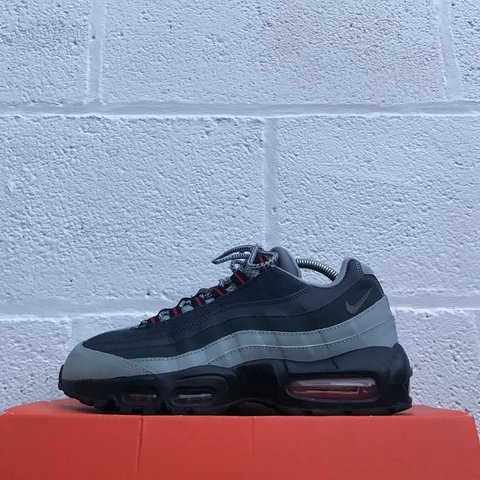 1b8e9aa35c @liverpoolfootwear. 2 years ago. Liverpool, UK. Nike Air Max 95 - Obsidian  red/Grey/Black - Used - UK 7 - £75 - DM for any questions