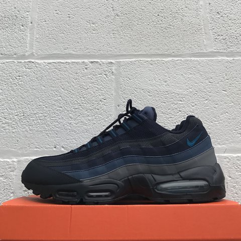 ... coupon code for nike air max 95 midnight navy navy used uk 11 75 depop  5f8b1 59f43a944