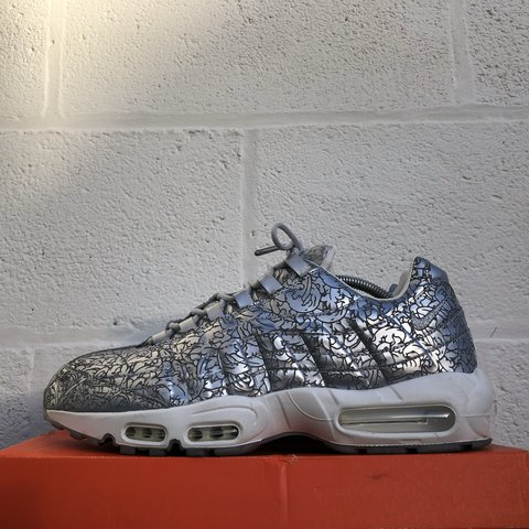 4c857ed71b ... coupon for nike air max 95 qs platinum metallic silver used uk 11 depop  7da4b 1f25f