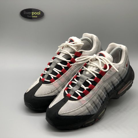 new product 01555 c8154 ... spain nike air max 95 sport red used uk 7.5 145 dm for depop cb2ec  103ae ...