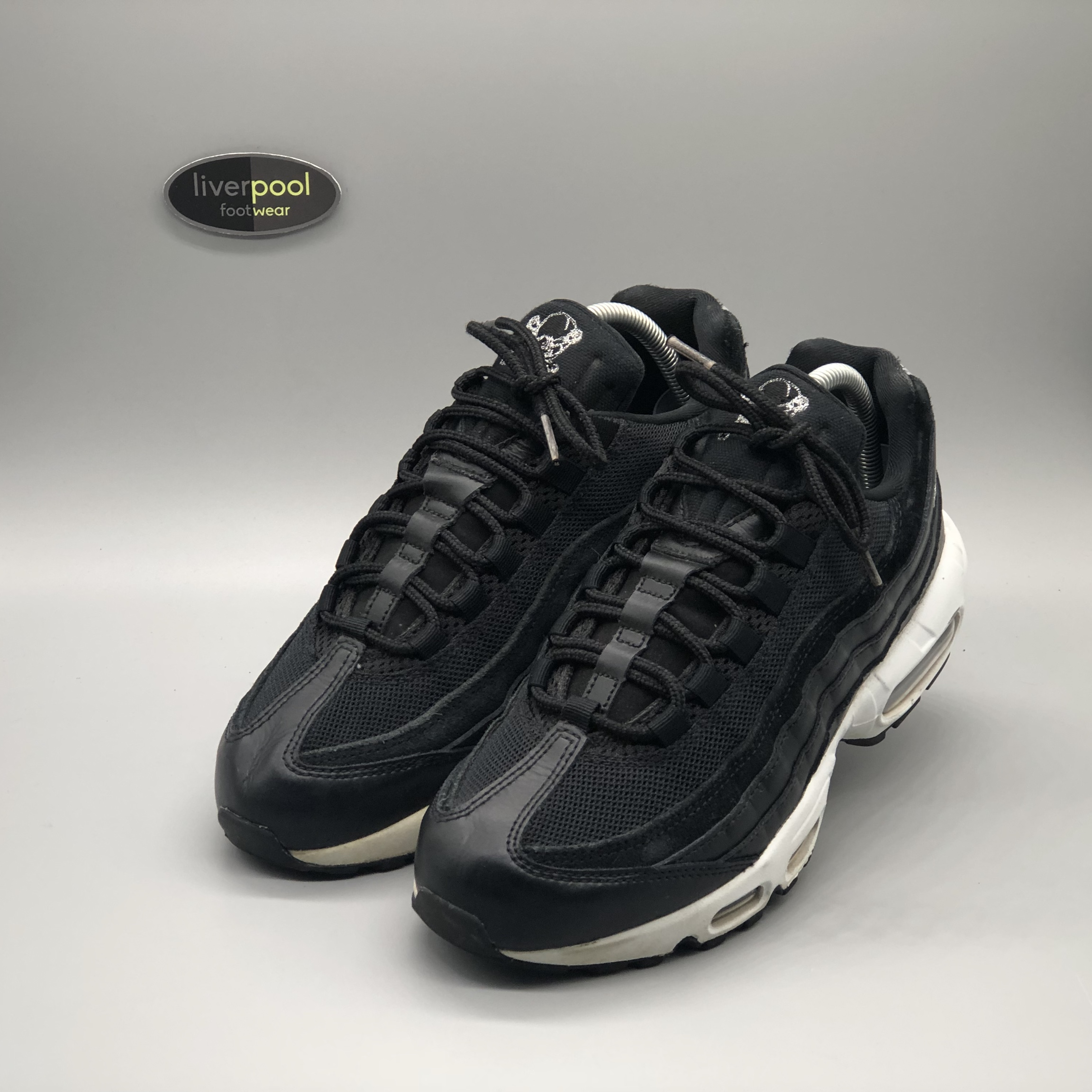 purchase cheap cd337 cfbe1 Nike Air Max 95 - Skull Pack - Lightly Used - UK 6.5... - Depop