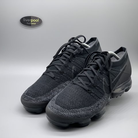 3a100368b Nike VaporMax 1.0 - Triple Black - Brand new w  Box - UK - - Depop