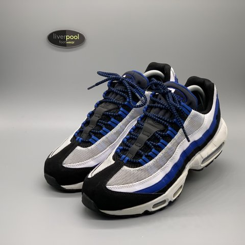 5c709345da @liverpoolfootwear. 4 months ago. Liverpool, United Kingdom. Nike Air Max 95  - Blue / White - Used - UK 8 - £90 - DM for any questions